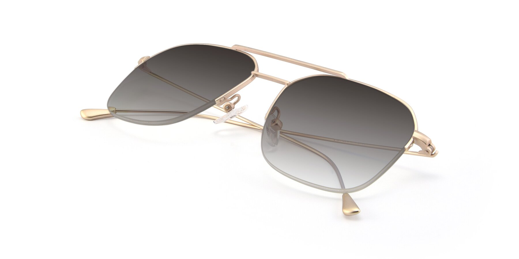 View of 9434 in Jet Gold with Gray Gradient Lenses