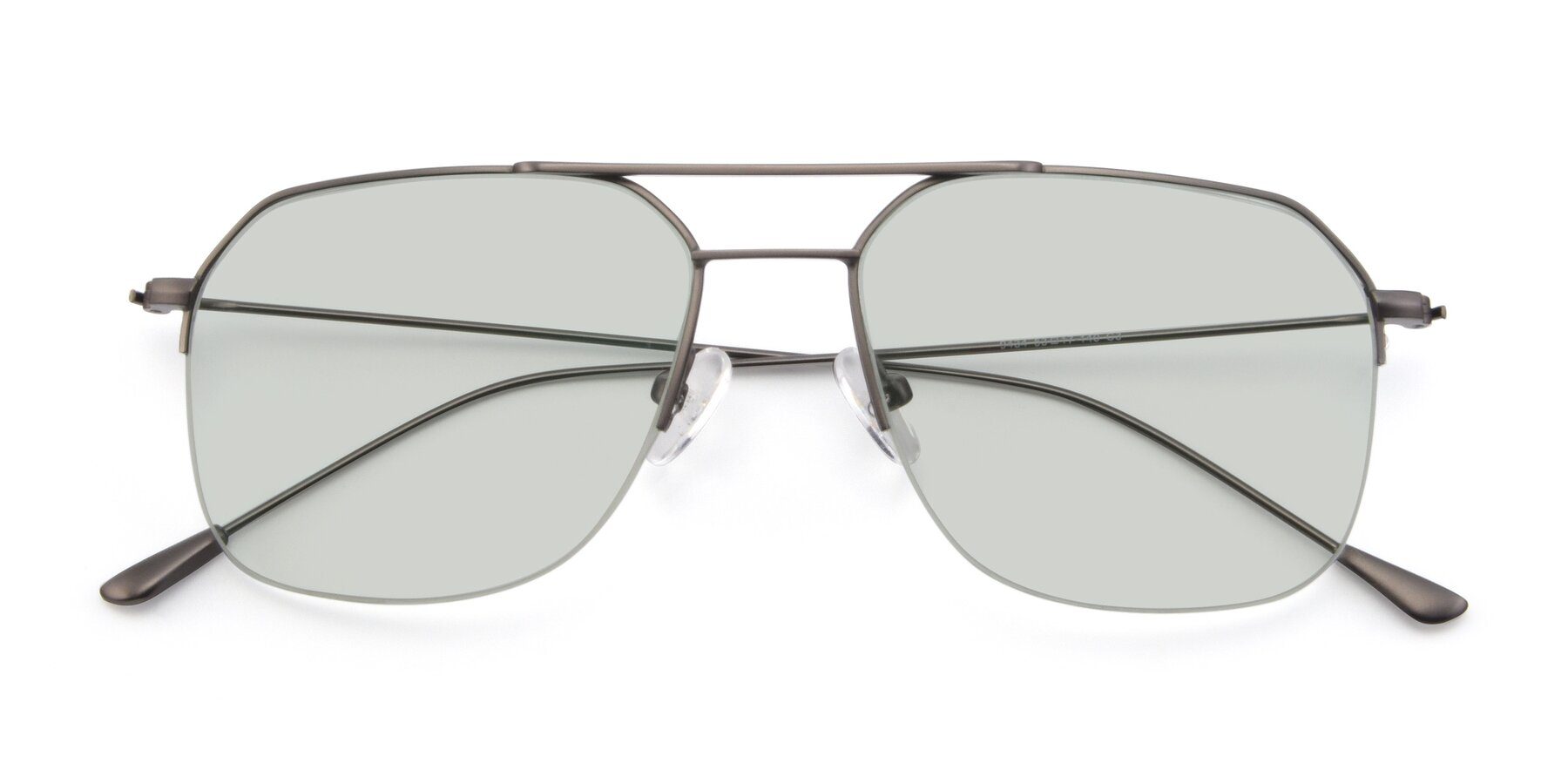 Folded Front of 9434 in Gun with Light Green Tinted Lenses
