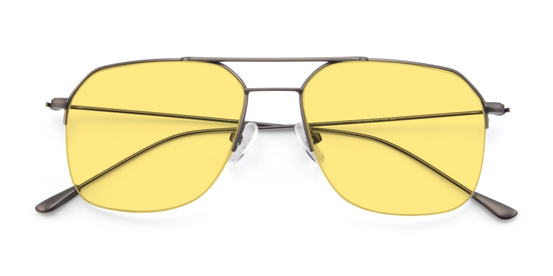 Folded Front of 9434 in Gun with Medium Yellow Tinted Lenses