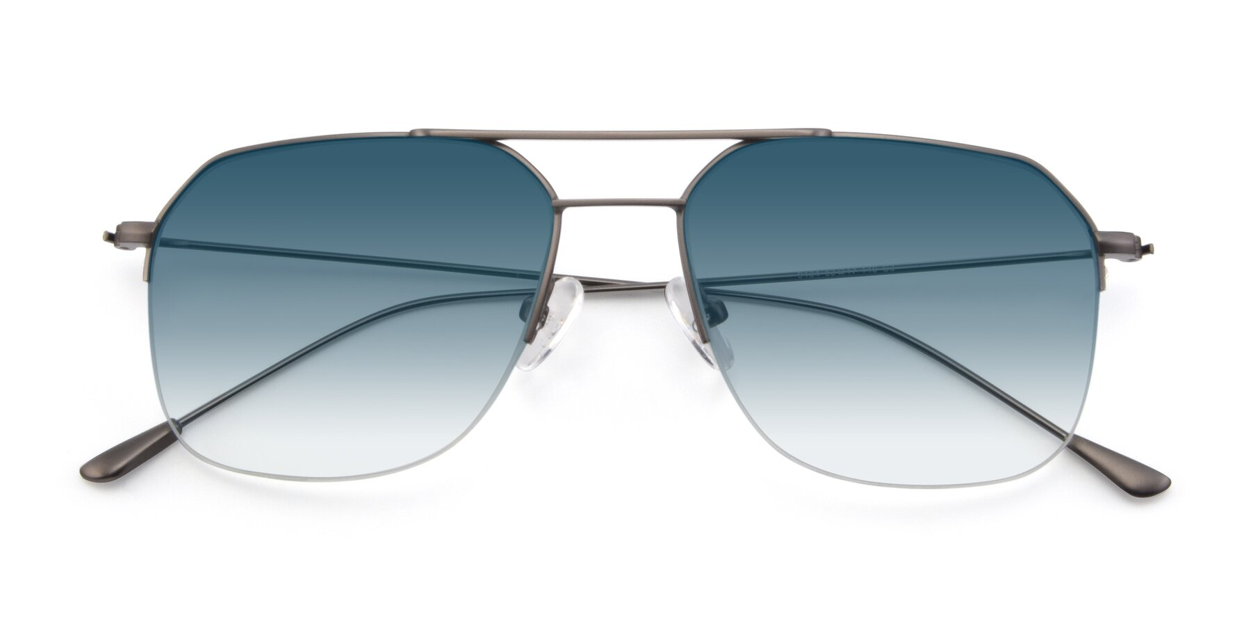 Folded Front of 9434 in Gun with Blue Gradient Lenses