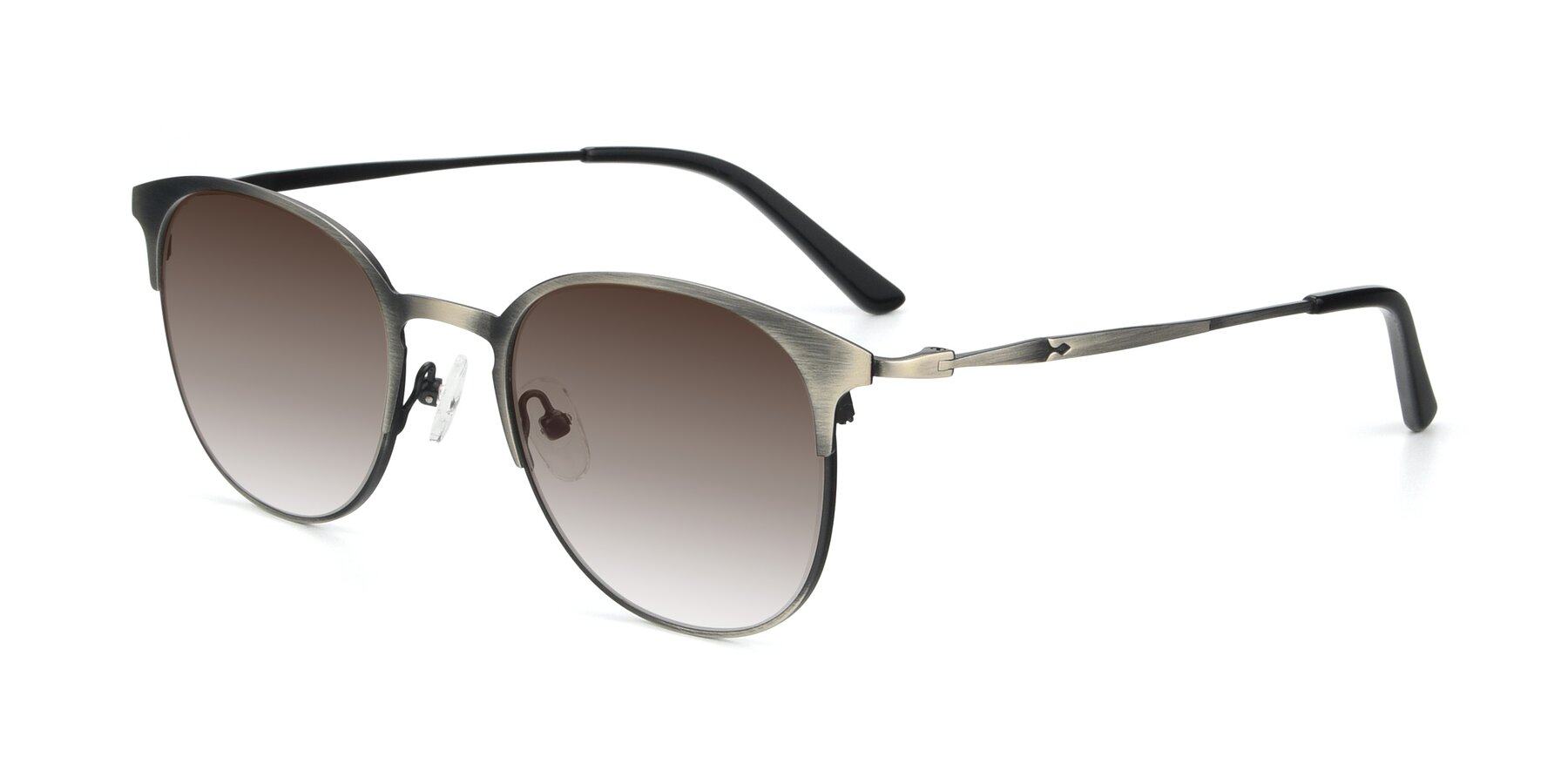 Angle of 9547 in Antique Gun with Brown Gradient Lenses