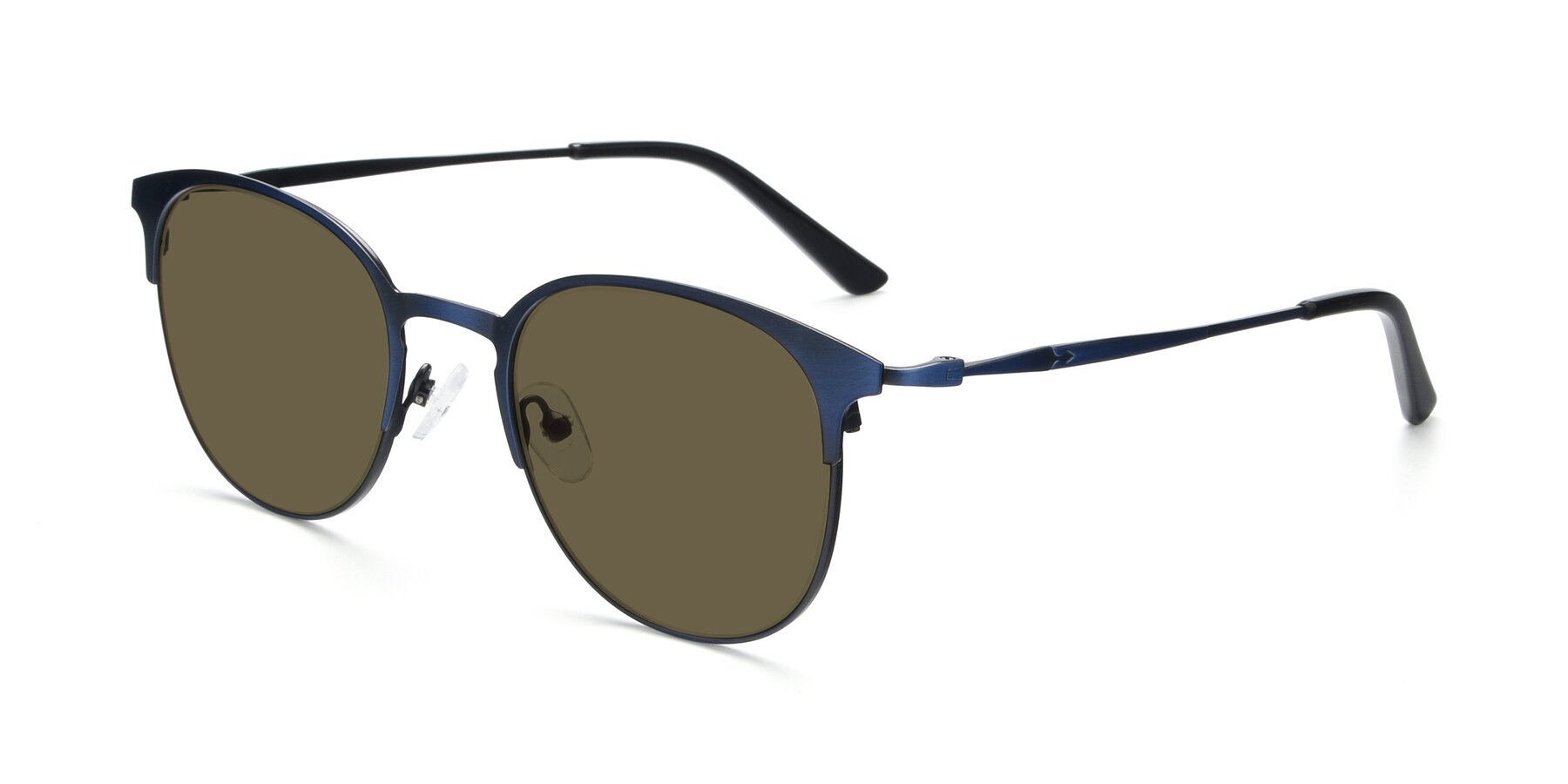 Angle of 9547 in Antique Blue with Brown Polarized Lenses