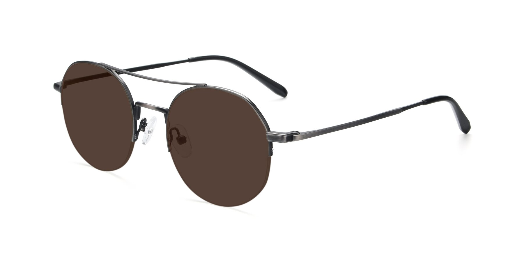 Angle of 9521 in Gun with Brown Tinted Lenses