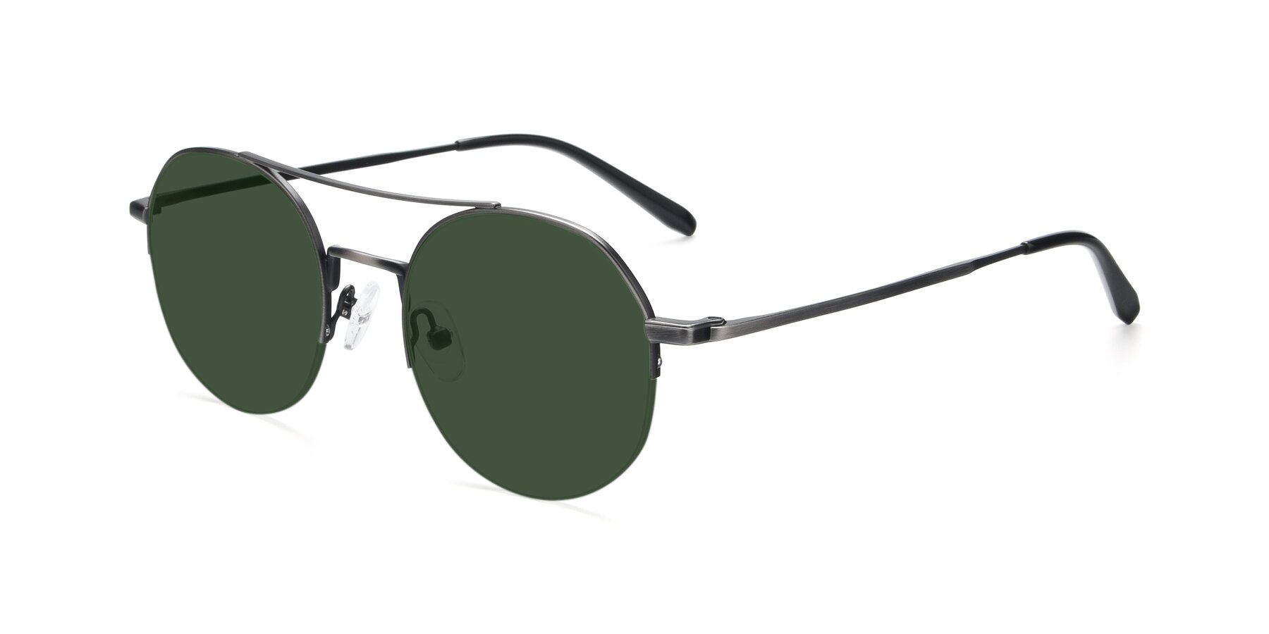 Angle of 9521 in Gun with Green Tinted Lenses