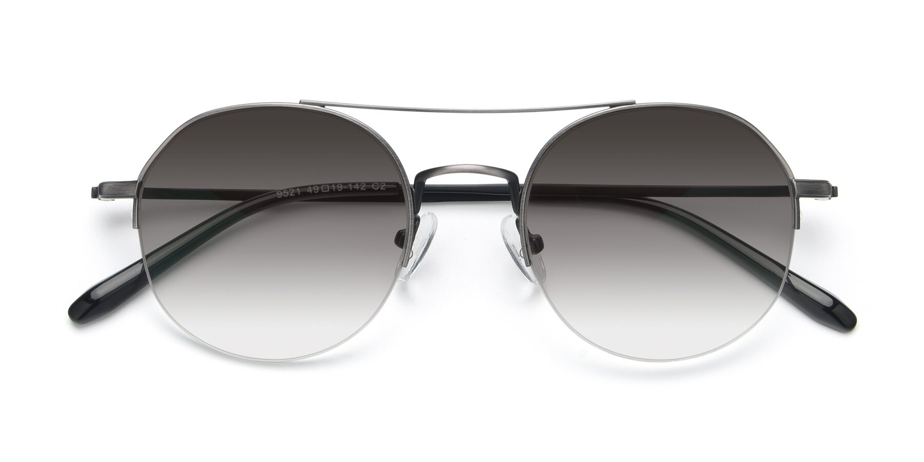 Folded Front of 9521 in Gun with Gray Gradient Lenses