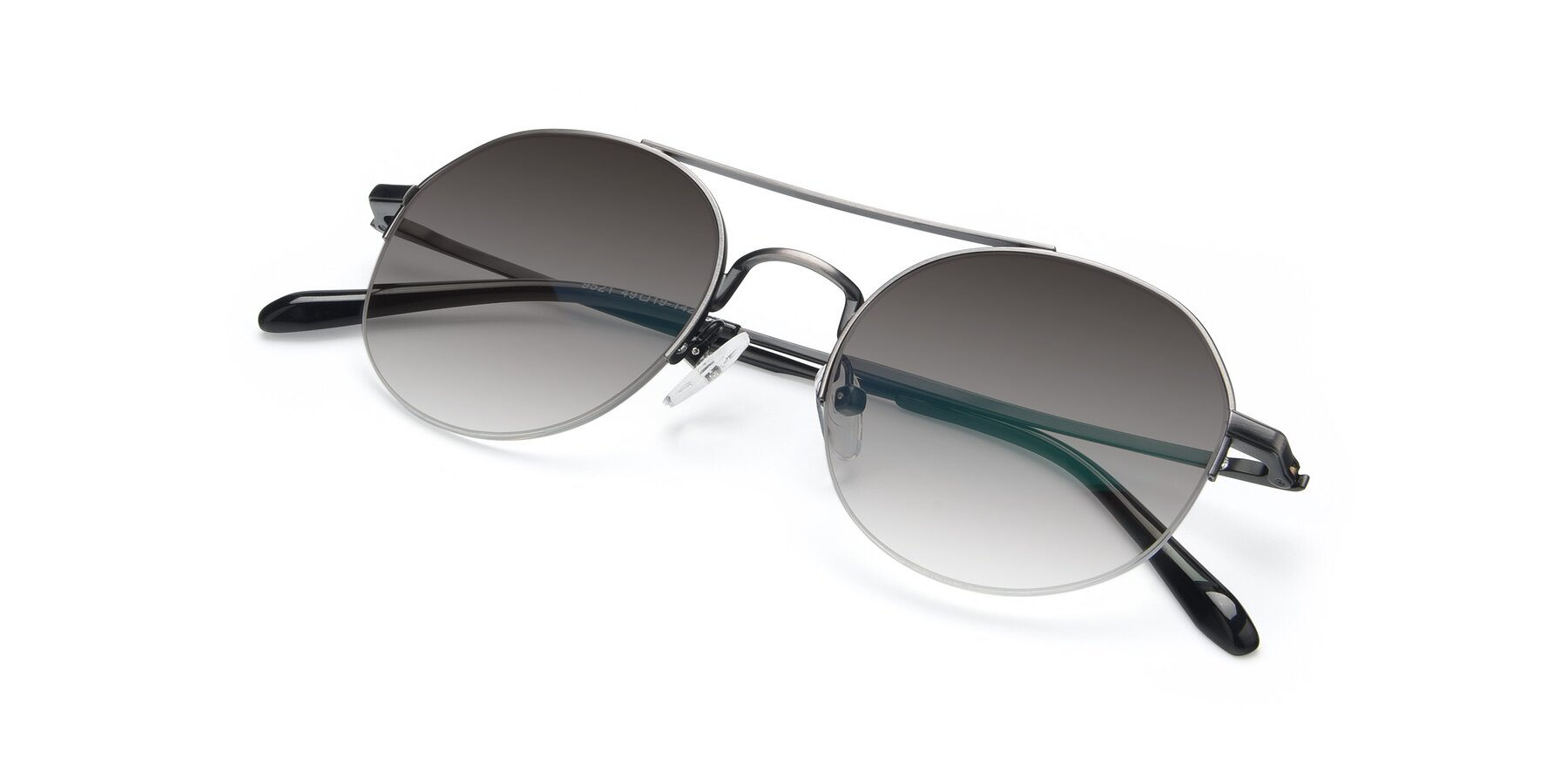 View of 9521 in Gun with Gray Gradient Lenses