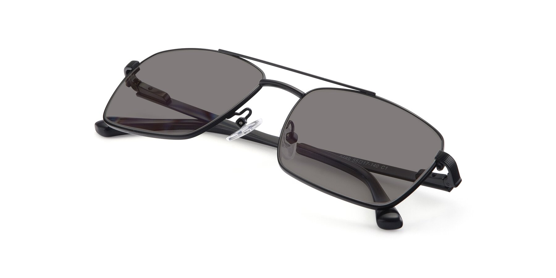 View of 9469 in Black with Medium Gray Tinted Lenses