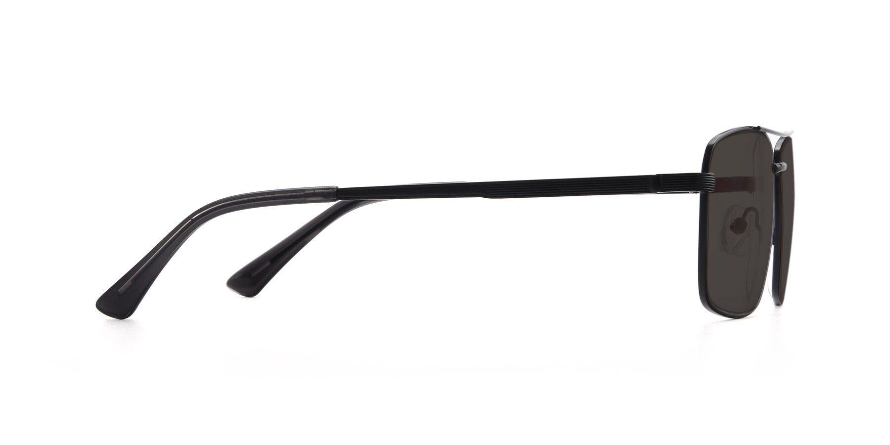 Side of 9469 in Black with Gray Tinted Lenses