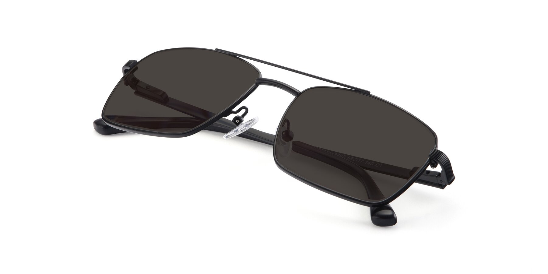 View of 9469 in Black with Gray Tinted Lenses