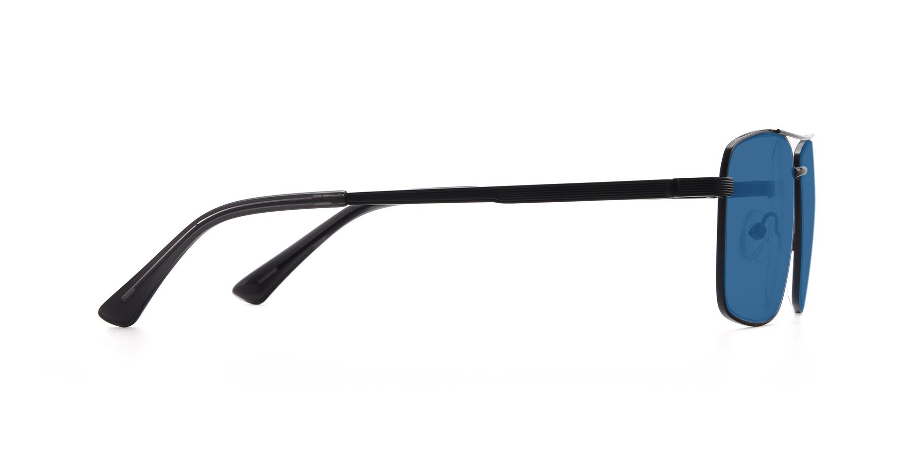 Side of 9469 in Black with Blue Tinted Lenses