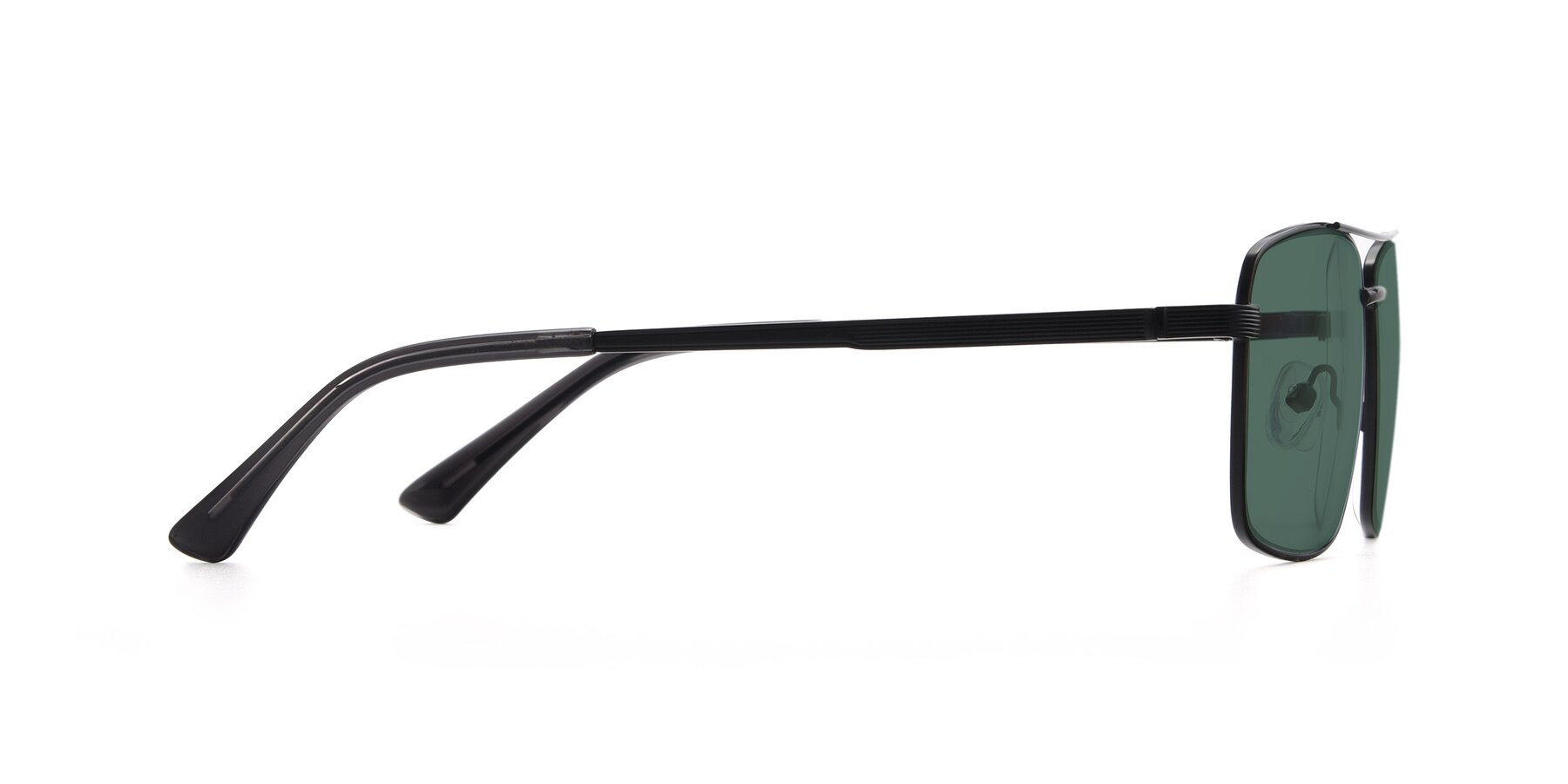 Side of 9469 in Black with Green Polarized Lenses