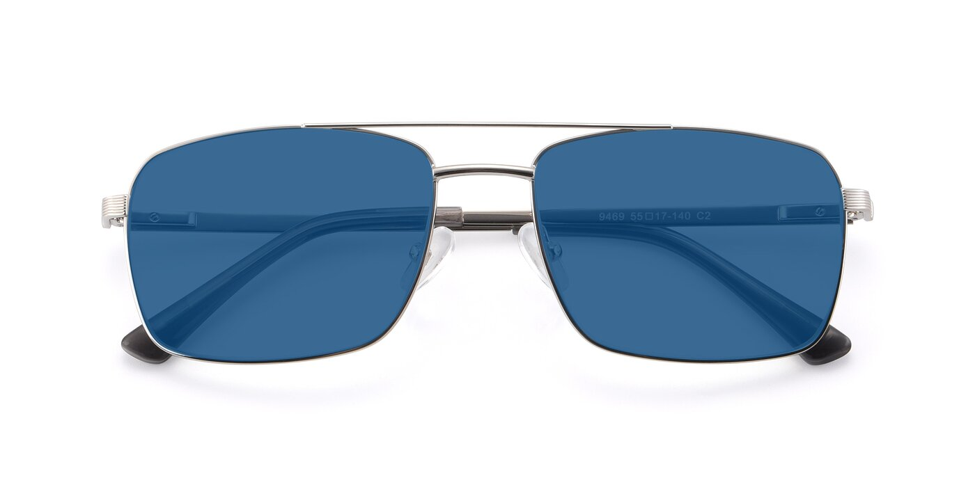 9469 - Silver Tinted Sunglasses