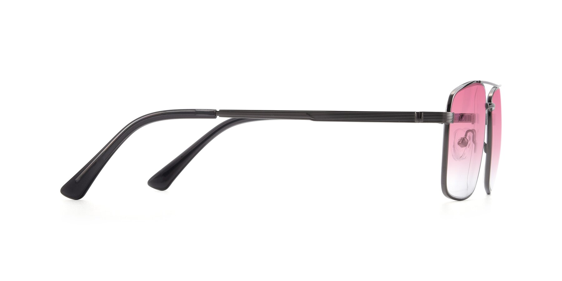 Side of 9469 in Gun with Pink Gradient Lenses