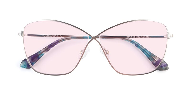 9412 - Silver Tinted Sunglasses