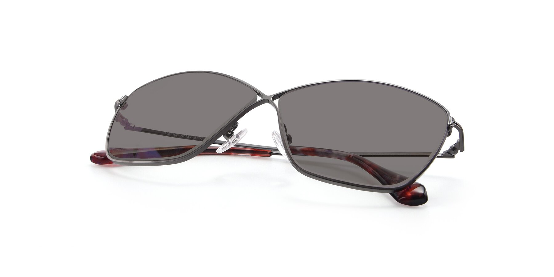 View of 9412 in Gunmetal with Medium Gray Tinted Lenses