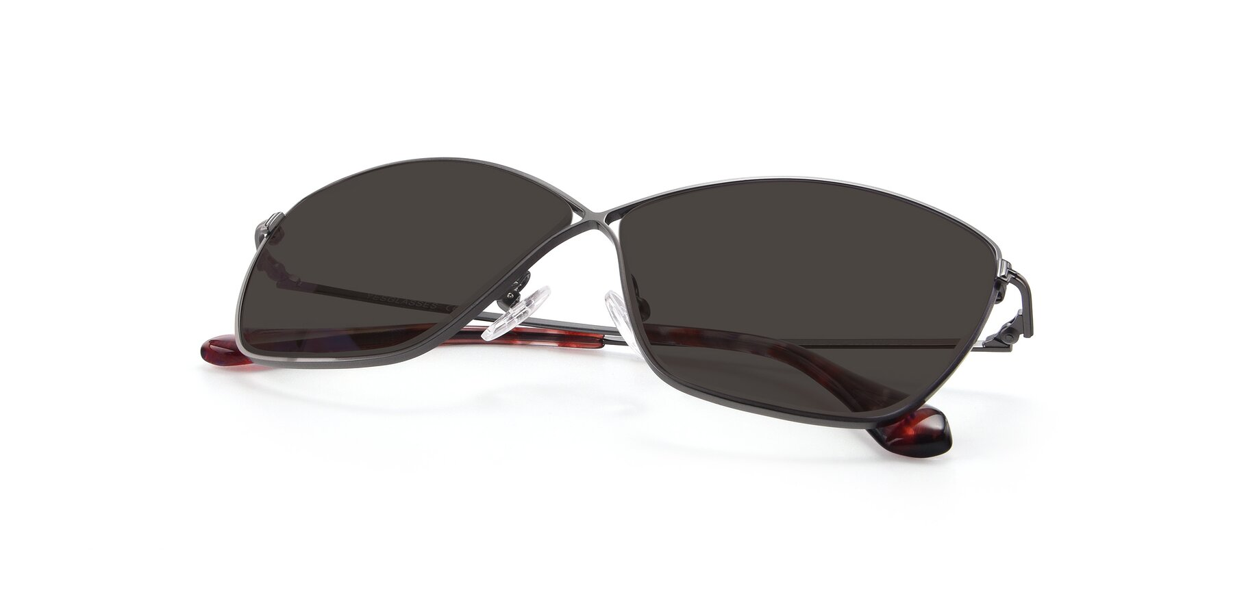 View of 9412 in Gunmetal with Gray Tinted Lenses