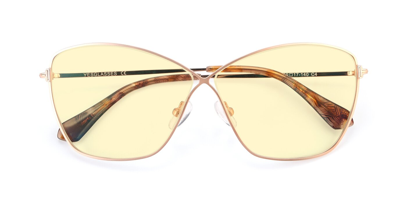 9412 - Gold Tinted Sunglasses