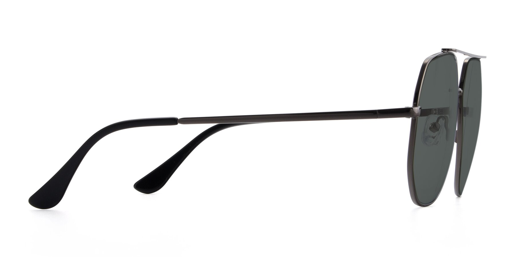 Side of 9438 in Gunmetal with Gray Polarized Lenses