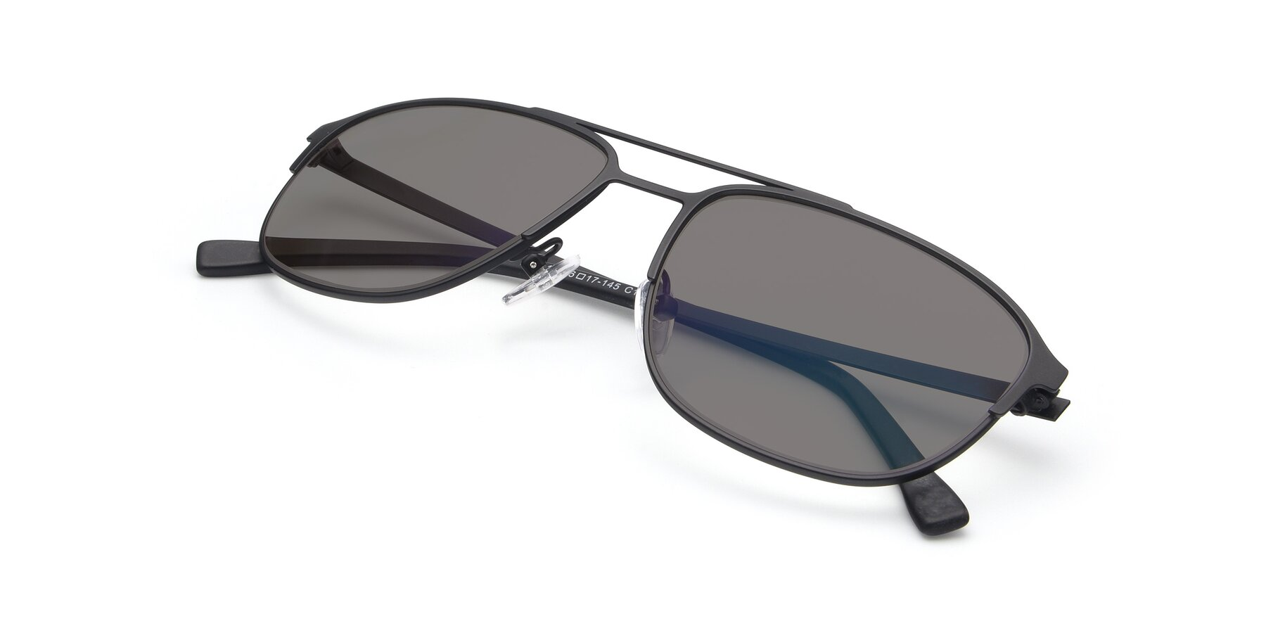 View of 9513 in Antique Black with Medium Gray Tinted Lenses