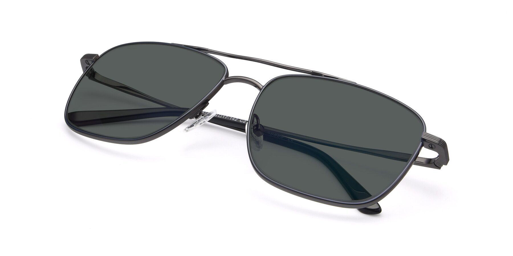 View of 9519 in Ink Blue-Gun with Gray Polarized Lenses