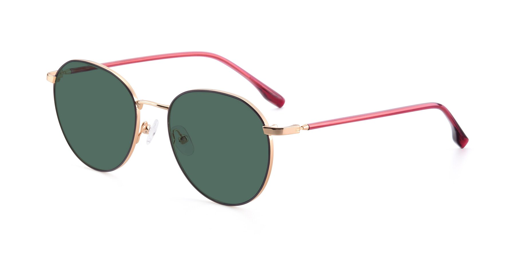 Angle of 9553 in Purple-Gold with Green Polarized Lenses