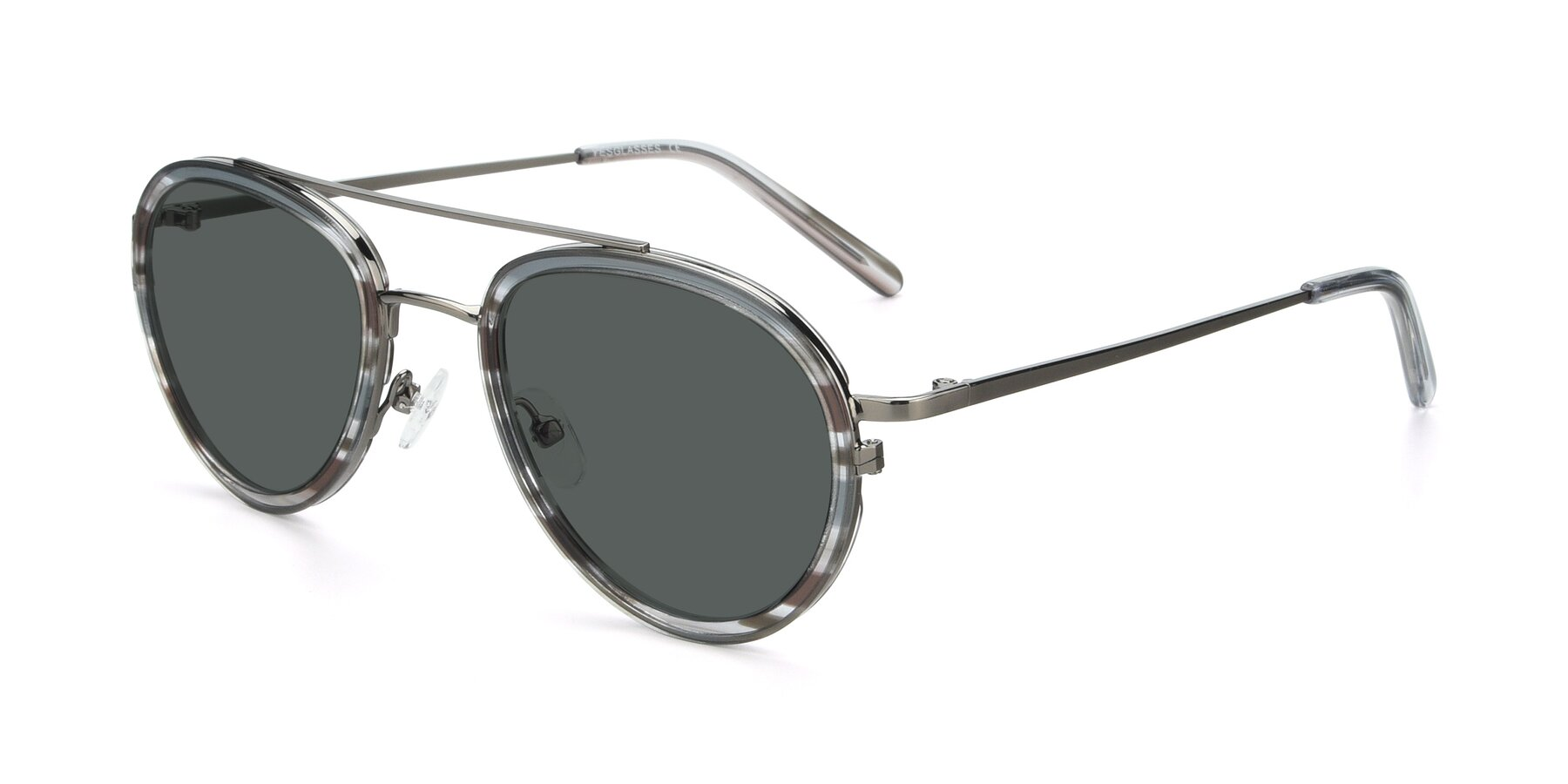 Angle of 9554 in Gun-Transparent with Gray Polarized Lenses