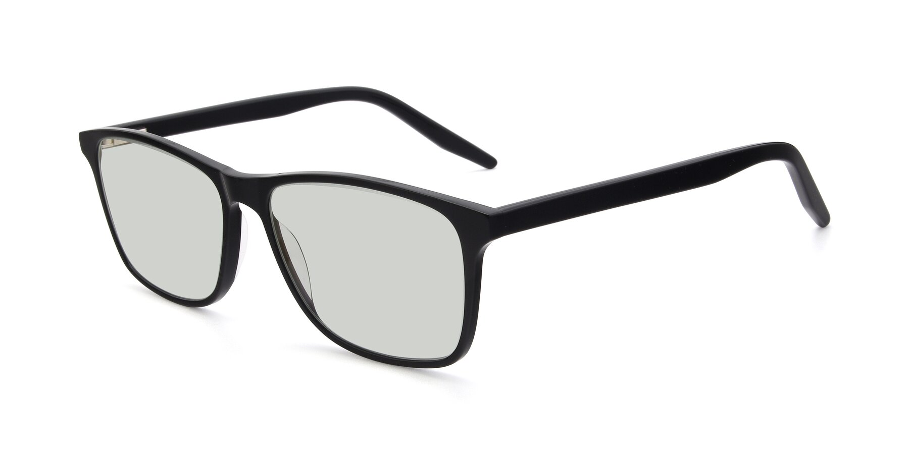Angle of 17500 in Black with Light Green Tinted Lenses
