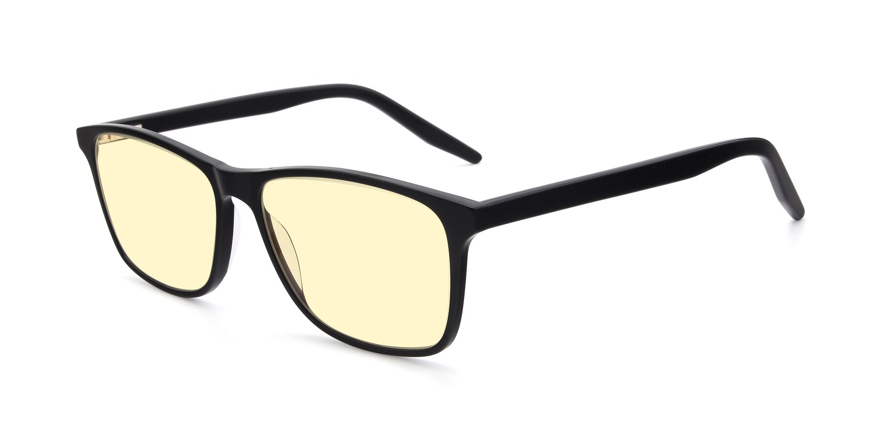 Angle of 17500 in Black with Light Yellow Tinted Lenses