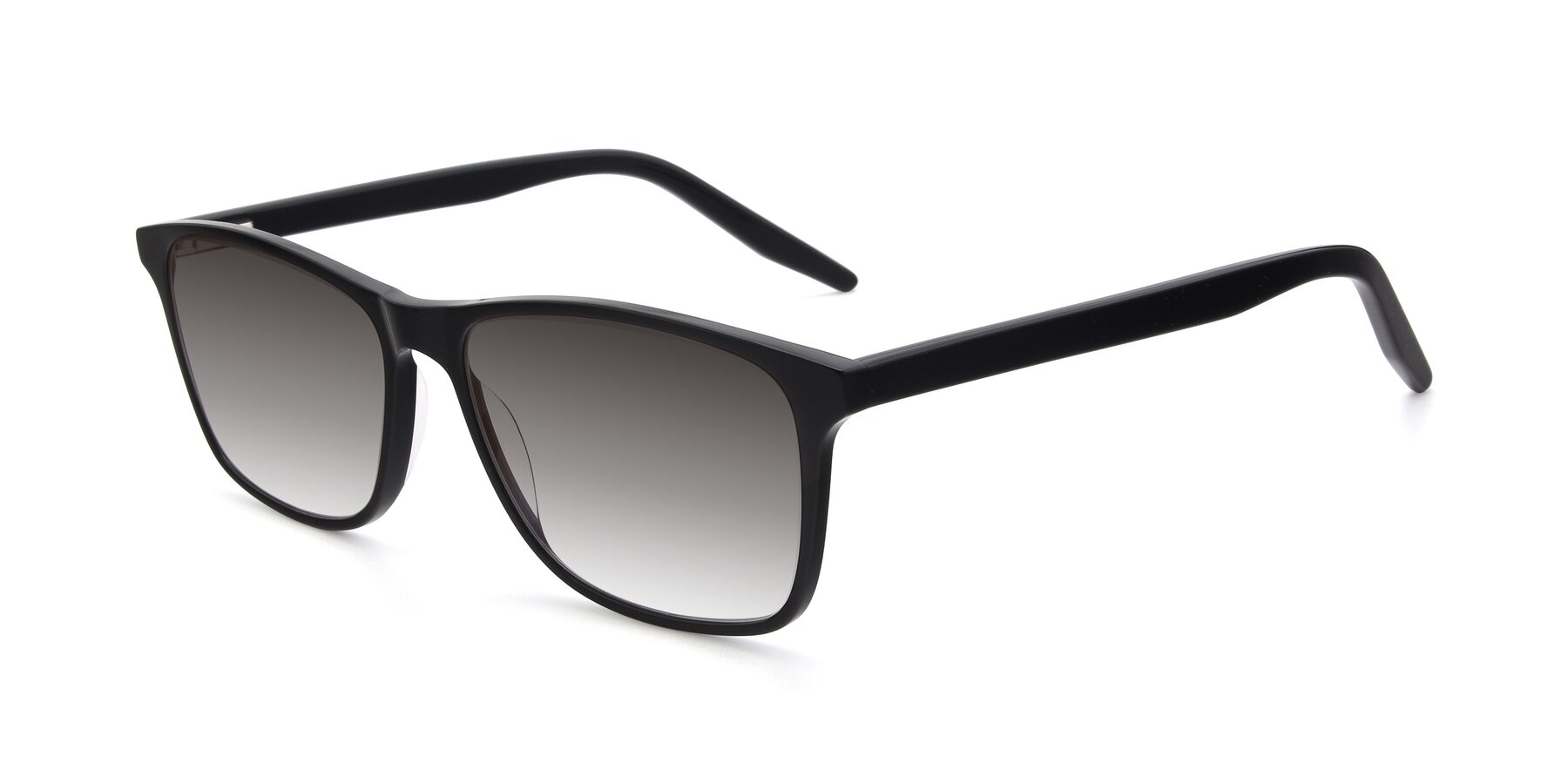 Angle of 17500 in Black with Gray Gradient Lenses