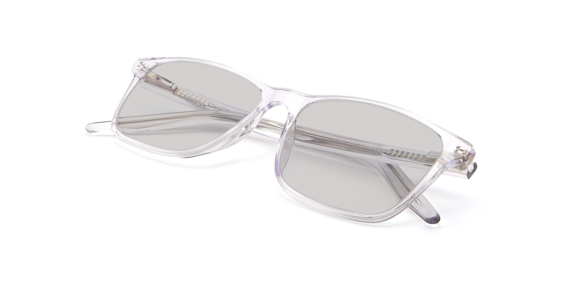 View of 17500 in Clear with Light Gray Tinted Lenses