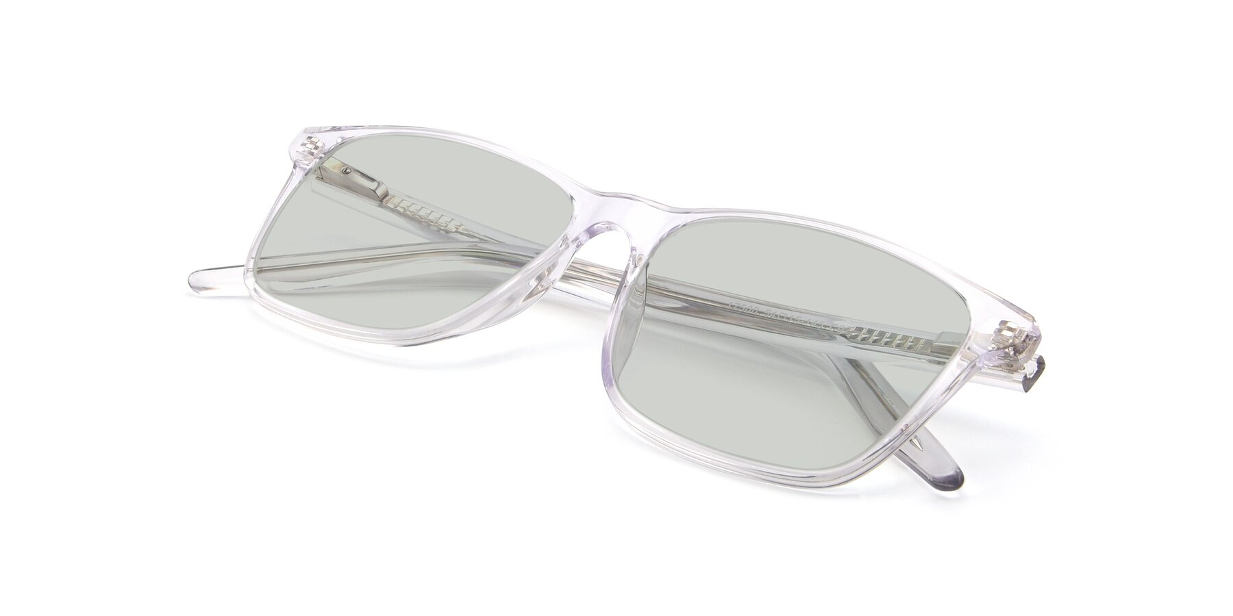 View of 17500 in Clear with Light Green Tinted Lenses