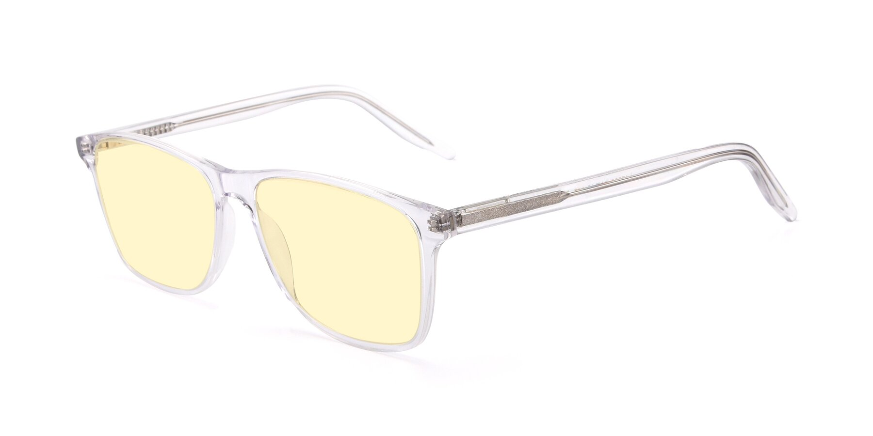 Angle of 17500 in Clear with Light Yellow Tinted Lenses