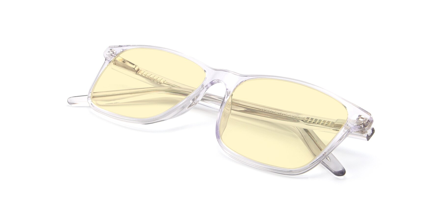 View of 17500 in Clear with Light Yellow Tinted Lenses