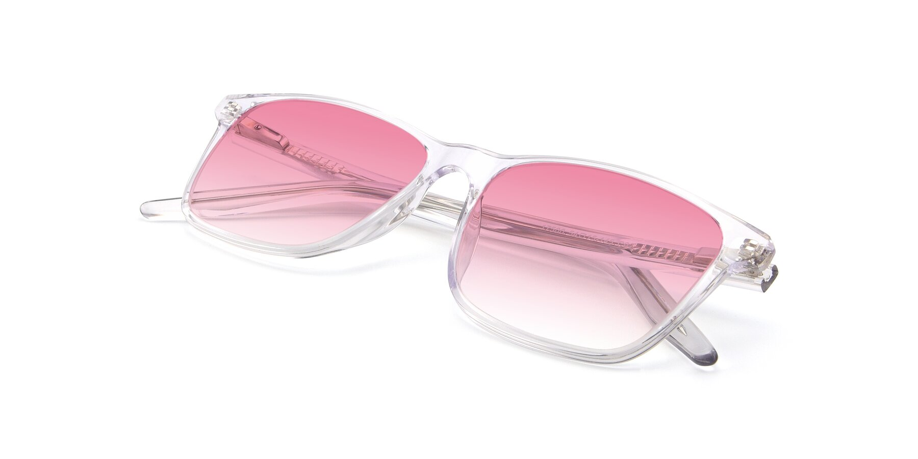 View of 17500 in Clear with Pink Gradient Lenses