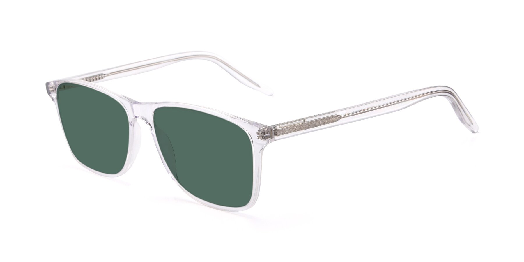 Angle of 17500 in Clear with Green Polarized Lenses