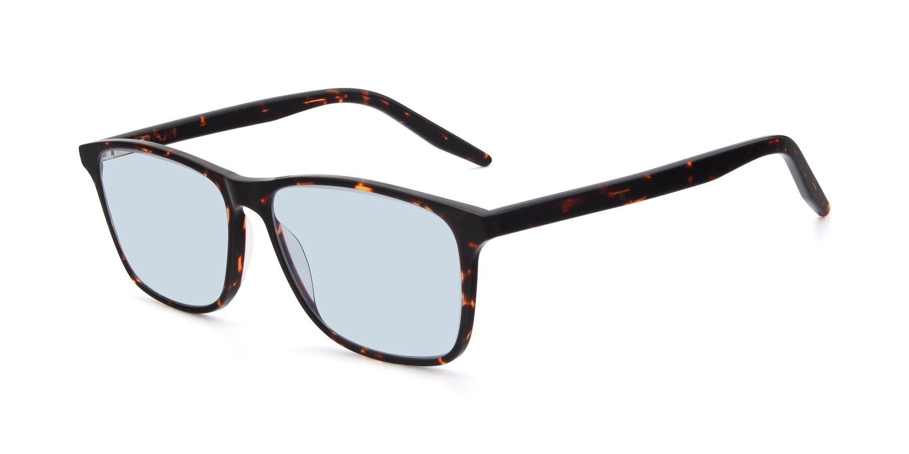 Angle of 17500 in Tortoise with Light Blue Tinted Lenses