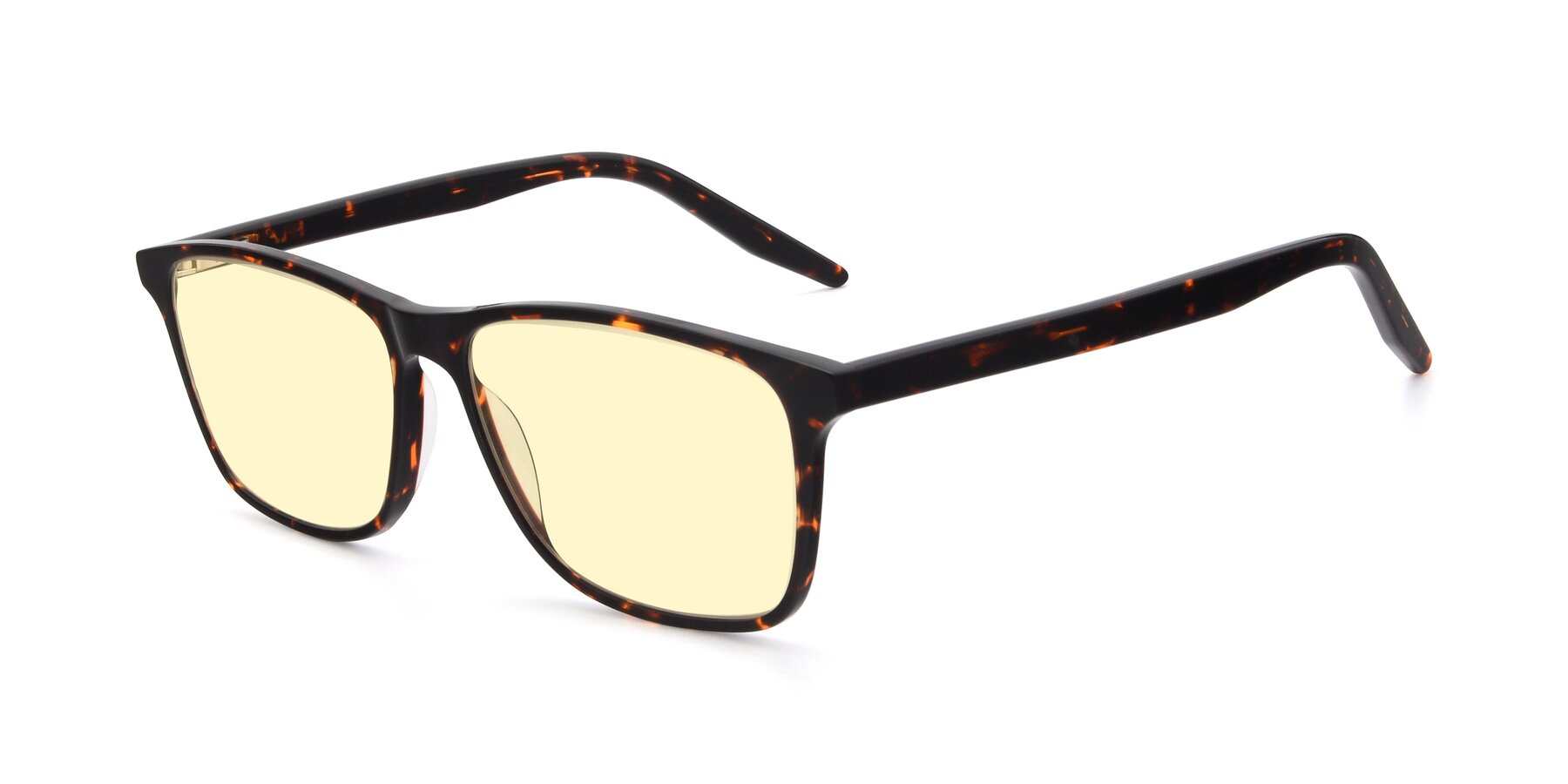 Angle of 17500 in Tortoise with Light Yellow Tinted Lenses
