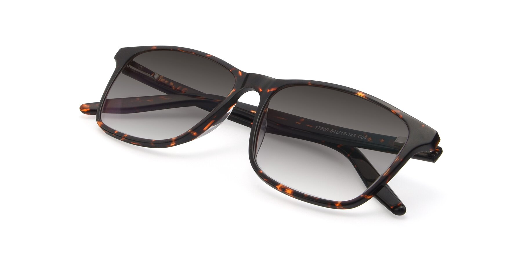 View of 17500 in Tortoise with Gray Gradient Lenses