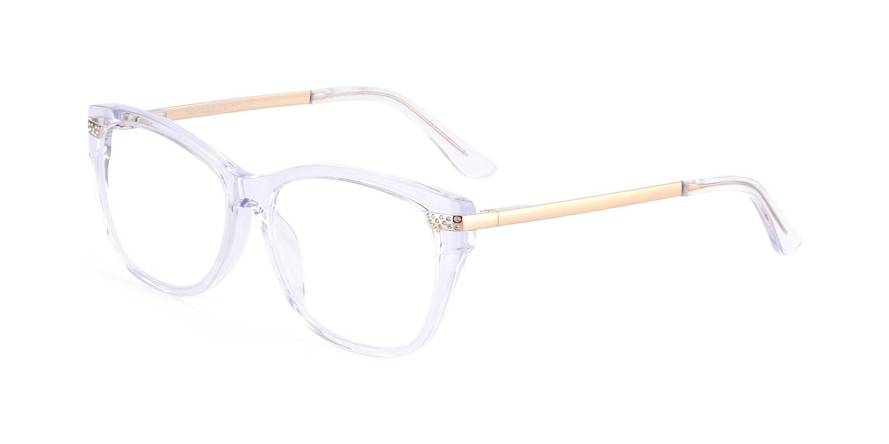 Angle of 17515 in Clear with Clear Eyeglass Lenses
