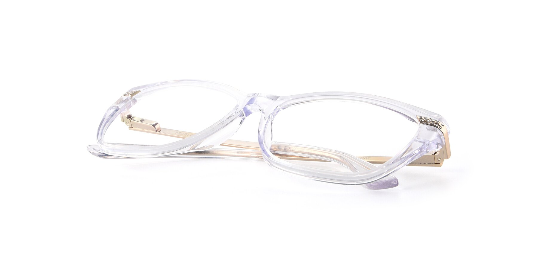 View of 17515 in Clear with Clear Eyeglass Lenses