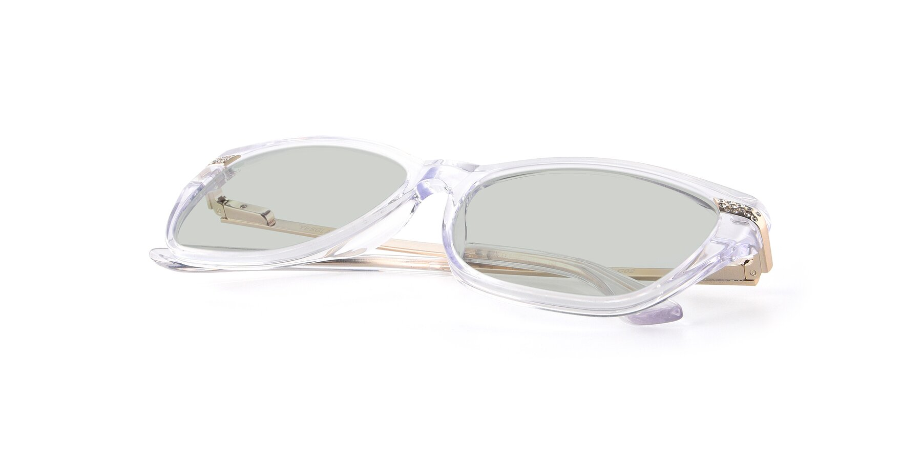 View of 17515 in Clear with Light Green Tinted Lenses