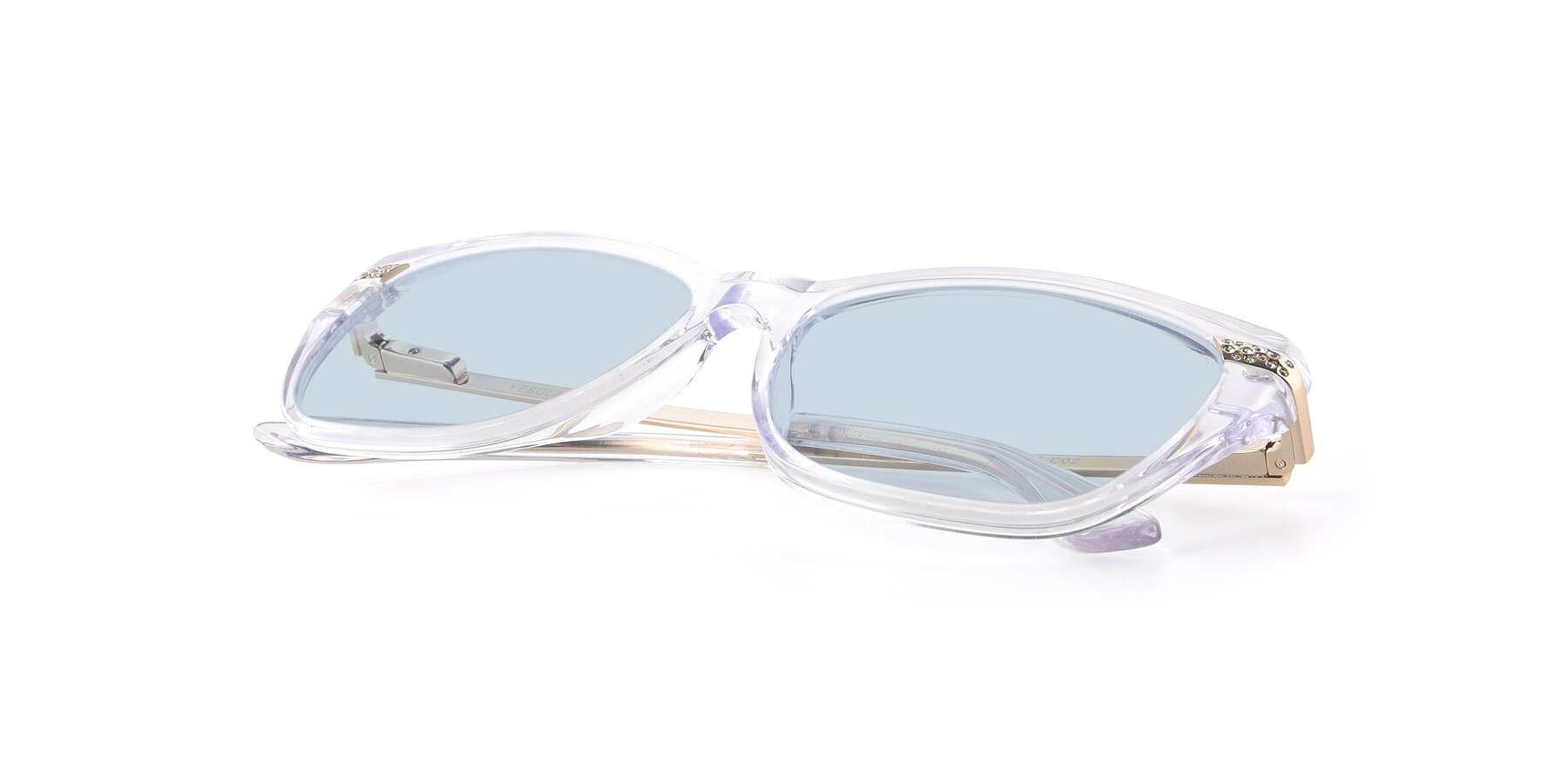 View of 17515 in Clear with Light Blue Tinted Lenses