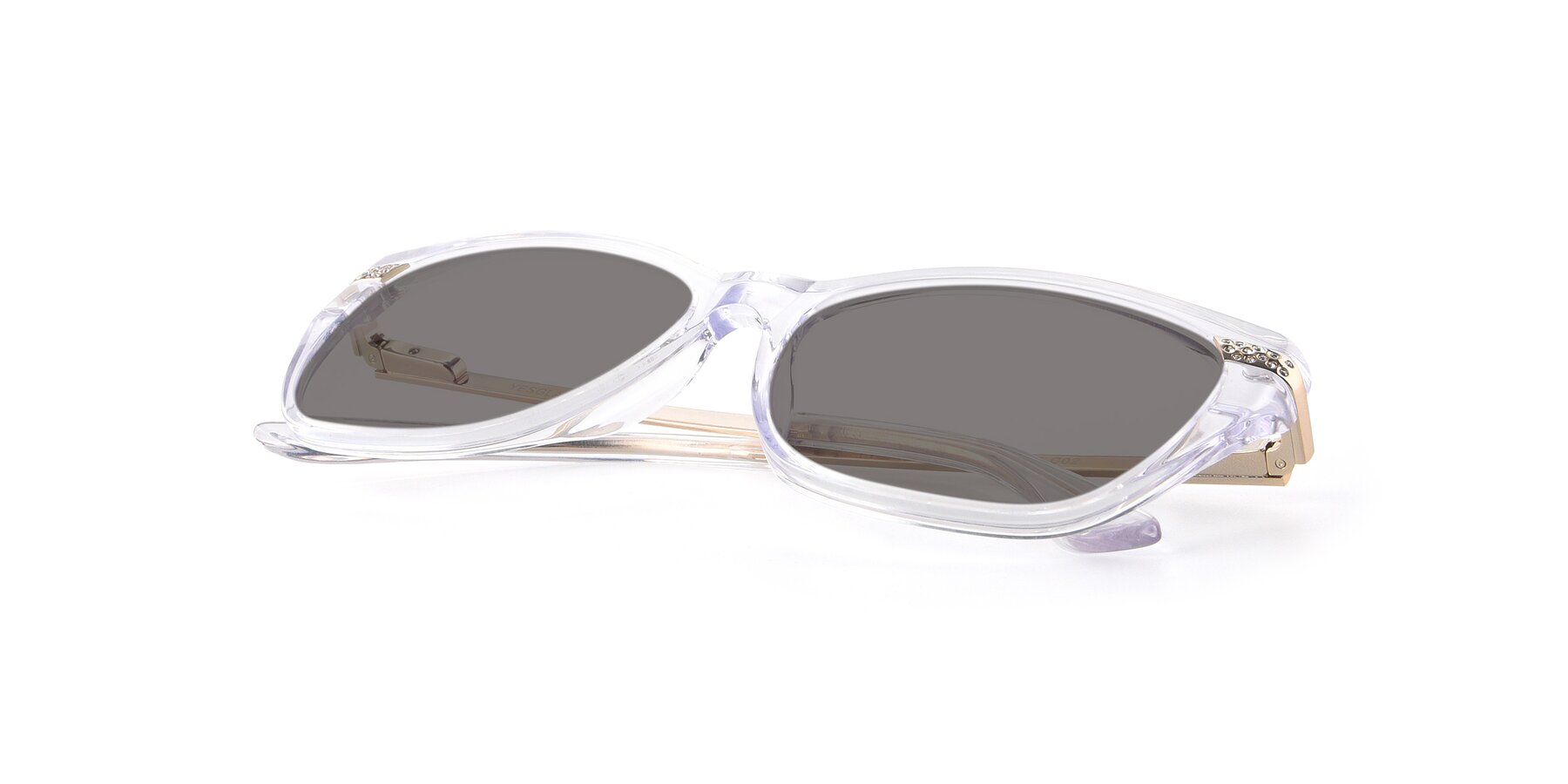 View of 17515 in Clear with Medium Gray Tinted Lenses