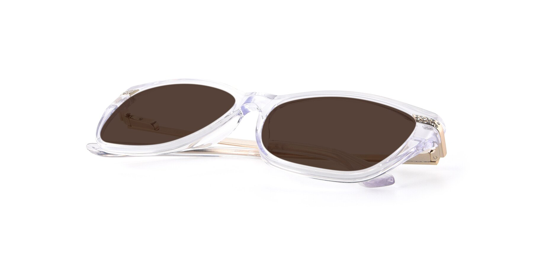 View of 17515 in Clear with Brown Tinted Lenses