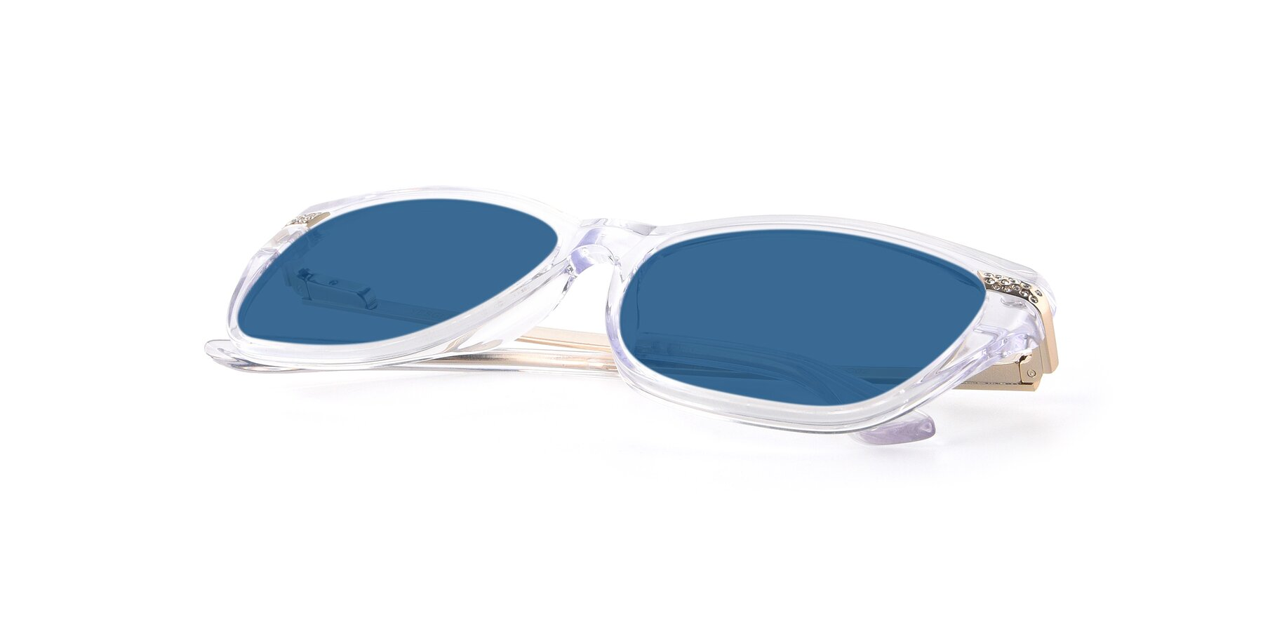 View of 17515 in Clear with Blue Tinted Lenses