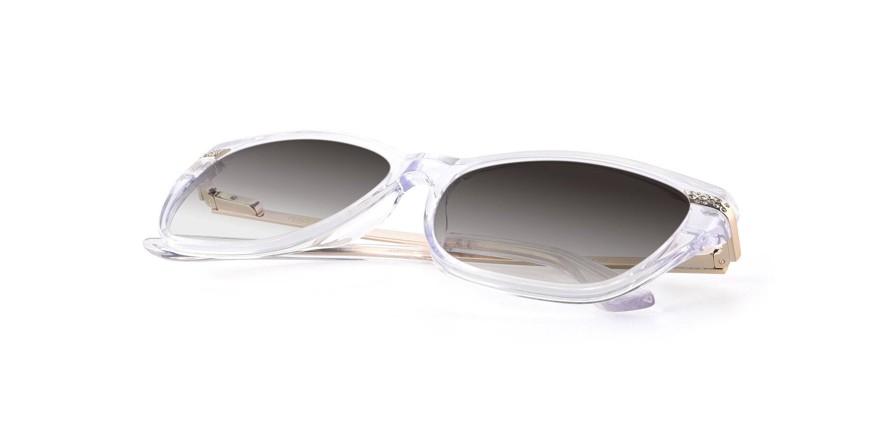 View of 17515 in Clear with Gray Gradient Lenses