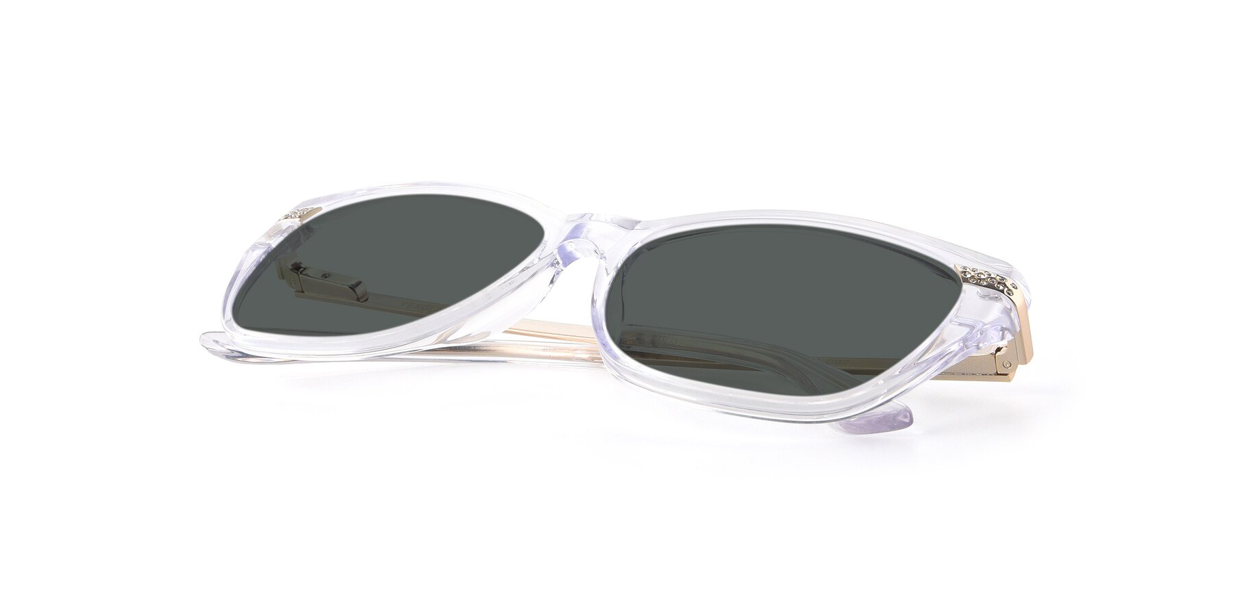 View of 17515 in Clear with Gray Polarized Lenses
