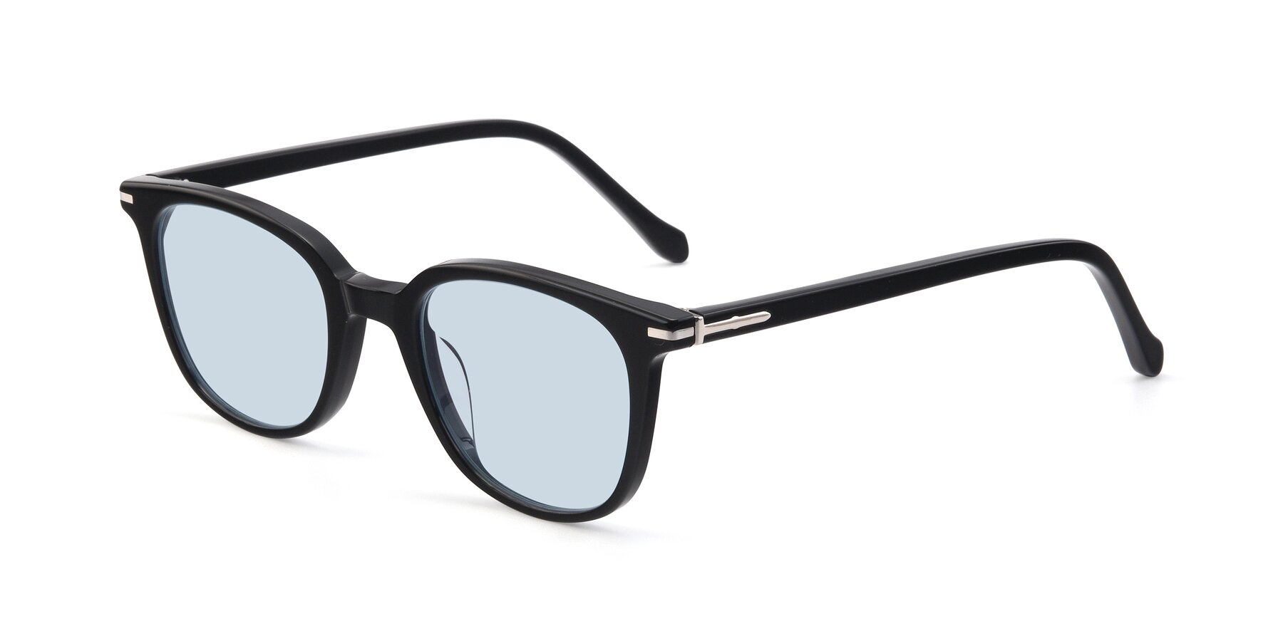 Angle of 17562 in Black with Light Blue Tinted Lenses