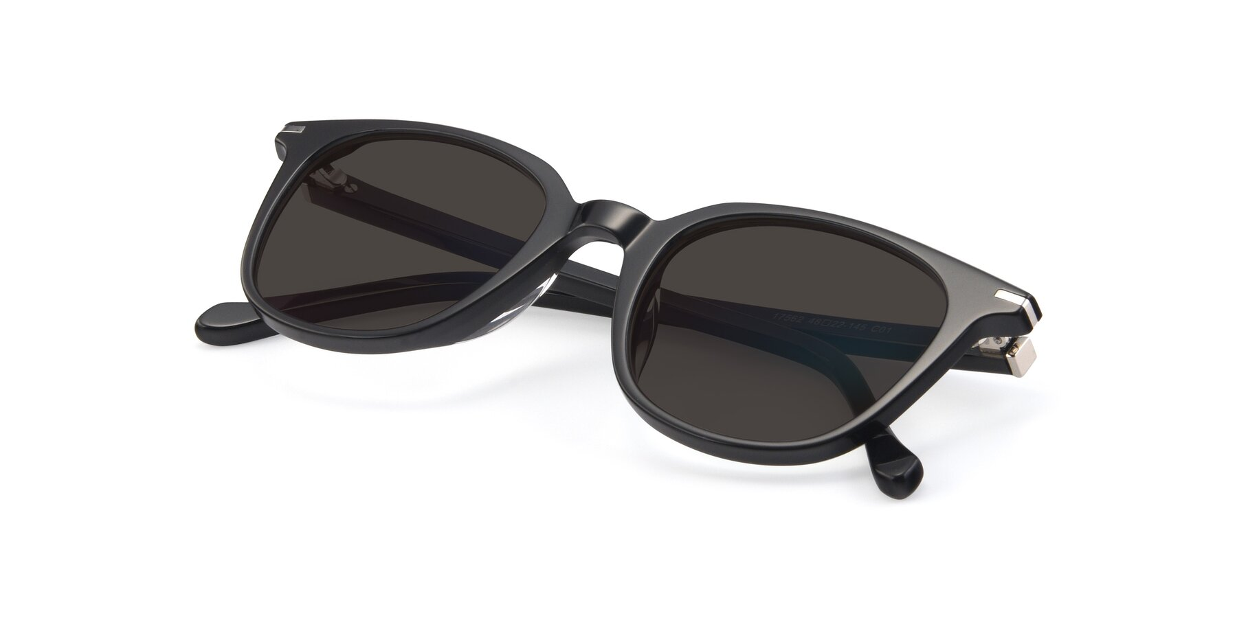 View of 17562 in Black with Gray Tinted Lenses