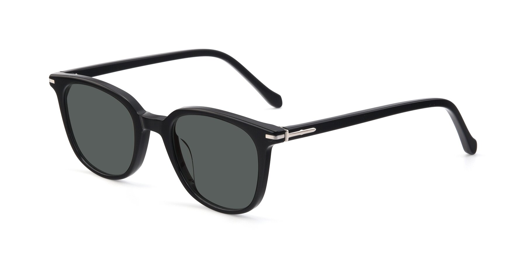 Angle of 17562 in Black with Gray Polarized Lenses